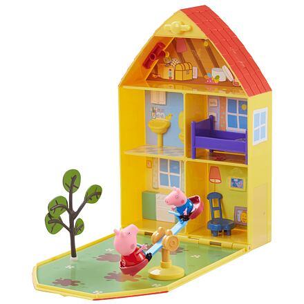 TM Toys Prasátko Peppa Domeček se zahrádkou