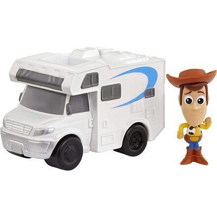 Mattel Toy Story 4 Minis Woody a obytný vůz