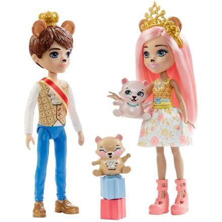 Mattel Enchantimals Kouzelné příběhy Braylee a Brannona Medvědovi
