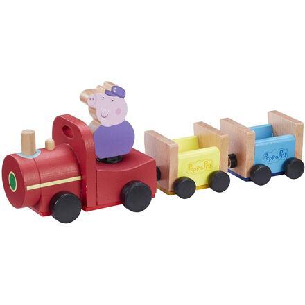 TM Toys Prasátko Peppa dřevěný vláček