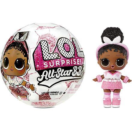 MGA L.O.L. Surprise! Sportovní hvězdy fotbalu