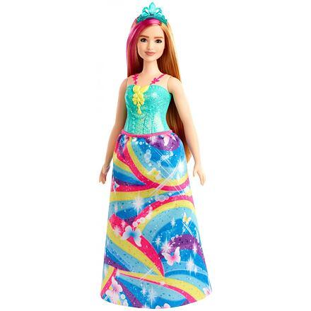 Mattel Barbie Dreamtopia Kouzelná princezna - tyrkysová