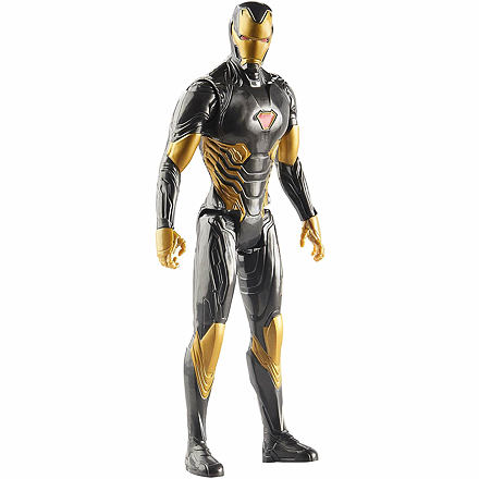 Hasbro Avengers Titan Hero černozlatý Iron Man 30 cm
