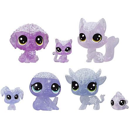 Hasbro LPS Zvířátka z ledového království 7 ks - fialová
