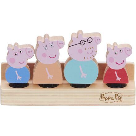 TM Toys Prasátko Peppa dřevěné figurky