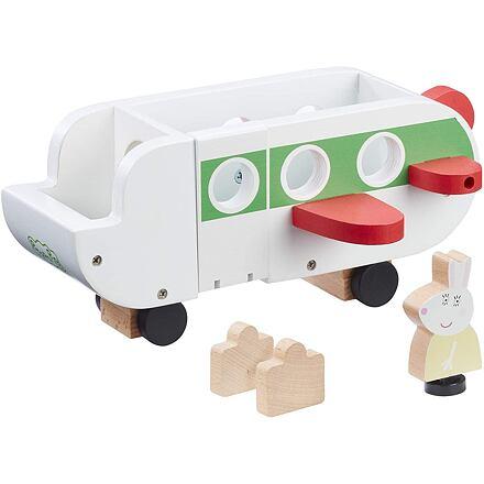 TM Toys Prasátko Peppa dřevěné letadlo