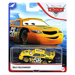 Cars 3 autíčko Billy Oilchanger