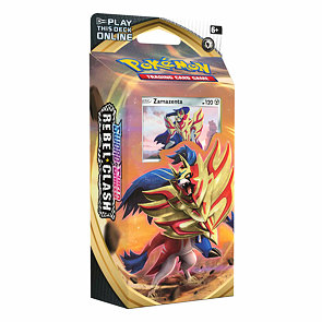 Pokémon Sword and Shield Rebel Clash Theme Deck - Zamazenta