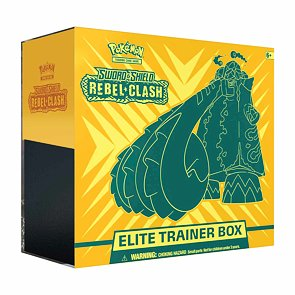 Pokémon Sword and Shield Rebel Clash Elite Trainer Box