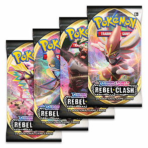 Pokémon Sword and Shield Rebel Clash Booster