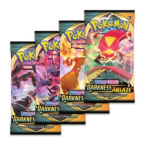 Pokémon Sword and Shield Darkness Ablaze Booster