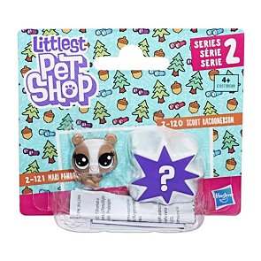 Littlest Pet Shop zvířátka - Mari Pandalyn a Scoot Racoonerson