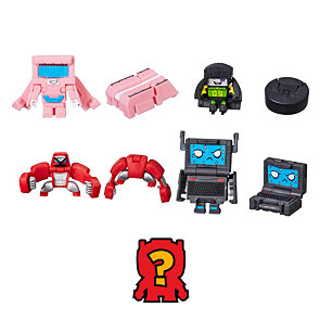 Transformers BotBots 5 figurek - Notebook