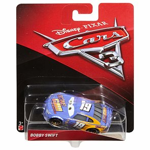 Cars 3 autíčko Bobby Swift
