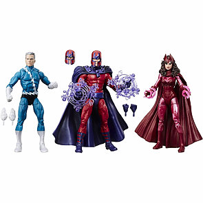 Marvel Legends - Magneto, Quicksilver a Scarlet Witch