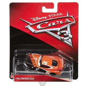Cars 3 autíčko Tim Treadless