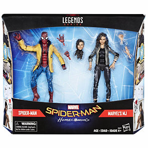 Marvel Legends - Spider-Man a MJ