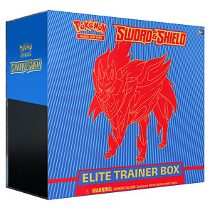 Pokémon Sword & Shield Elite Trainer Box - Zamazenta