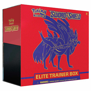Pokémon Sword & Shield Elite Trainer Box - Zacian