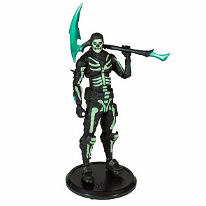 Fortnite figurka Green Glow Skull Trooper 18 cm (svítící ve tmě)