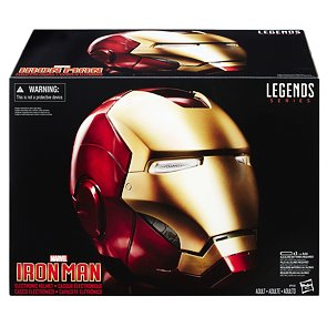 Marvel Legends elektronická helma Iron Man