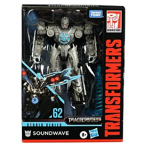 Transformers Studio Series 62 – Soundwave (Deluxe class)