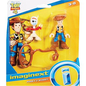 Toy Story Imaginext Woody a Vidlík