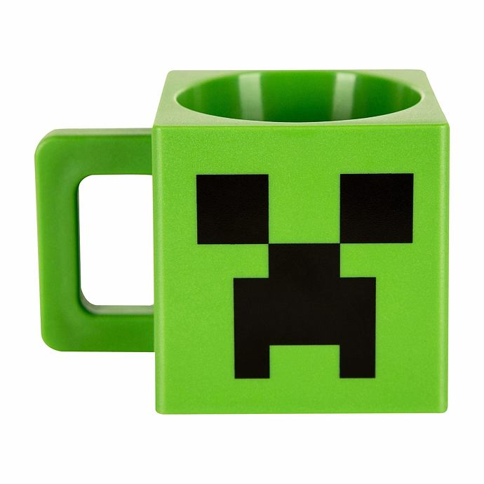Minecraft Hrnek Creeper Face